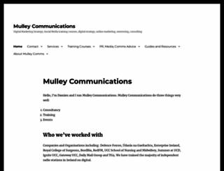 mulley.ie screenshot