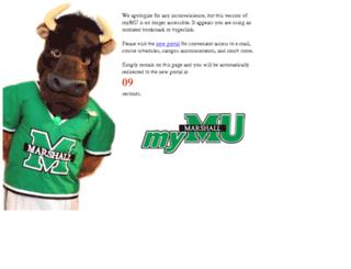 mulm4pd.marshall.edu screenshot