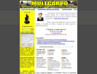 multcarpo.com.br screenshot