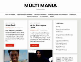 multi-mania.be screenshot