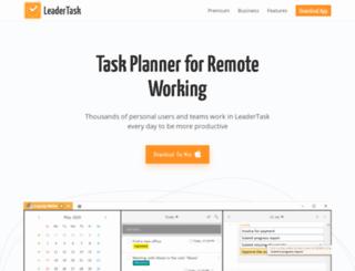 multi.leadertask.com screenshot