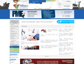 multicalculosaude.com.br screenshot