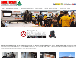 multicam.com.au screenshot