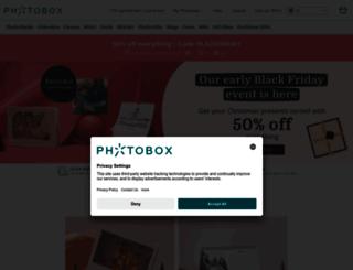 multicanvas.photobox.com screenshot