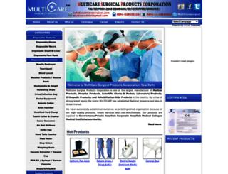 multicaresurgical.com screenshot