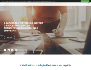 multicert.com screenshot