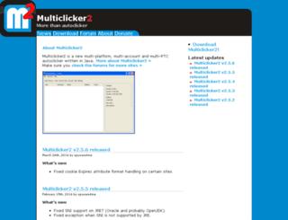multiclicker2.org screenshot