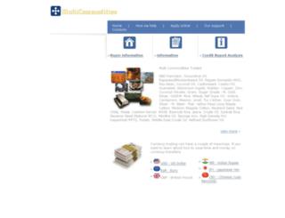 multicommodities.com screenshot