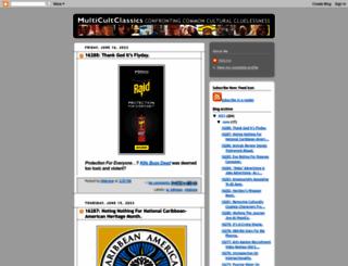 multicultclassics.blogspot.com screenshot