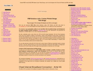 multidbscripts.com screenshot