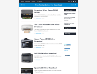 multidriverprinter.blogspot.com screenshot