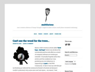 multifarious.filkin.com screenshot