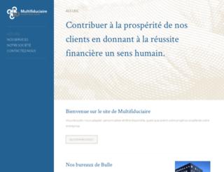 multifiduciaire-fribourg.ch screenshot