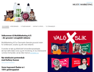 multimarketing.dk screenshot