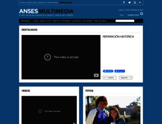 multimedia.anses.gob.ar screenshot