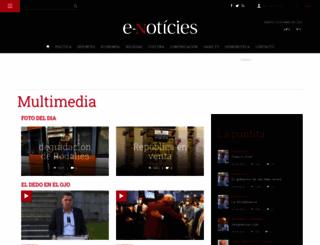 multimedia.e-noticies.es screenshot
