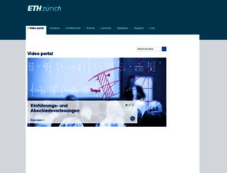 multimedia.ethz.ch screenshot