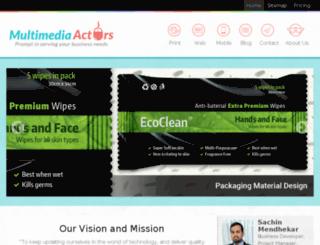 multimediaactors.com screenshot