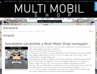 multimobil.hu screenshot