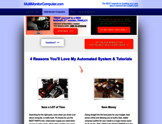 multimonitorcomputer.com screenshot
