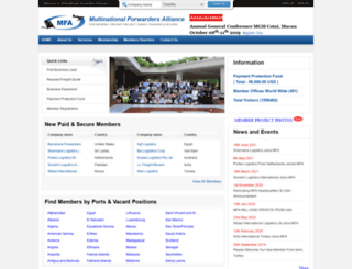 multinationalforwarders.com screenshot