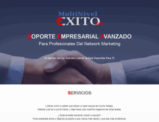 multinivelexito.com screenshot