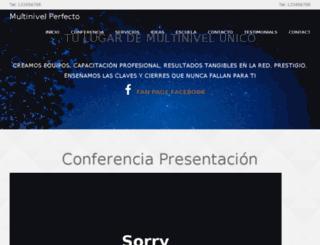 multinivelperfecto.com screenshot