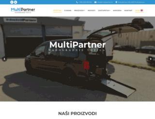 multipartner.hr screenshot