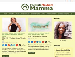 multiplemayhemmamma.com screenshot