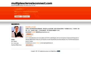 multiplesclerosisconnect.com screenshot
