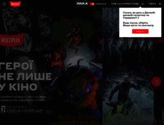 multiplex.ua screenshot