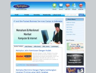 multiplus.co.id screenshot