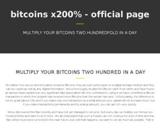 multiplymybitcoins.pe.hu screenshot