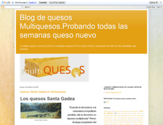 multiquesos.blogspot.com.es screenshot