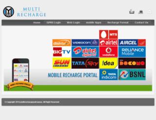 multirechargepadrauna.com screenshot