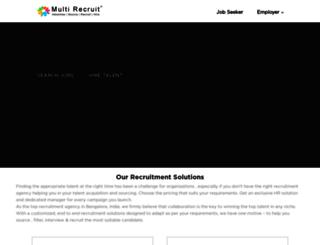 multirecruit.com screenshot
