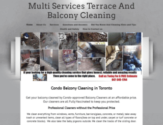 multiservices-janitorial.com screenshot