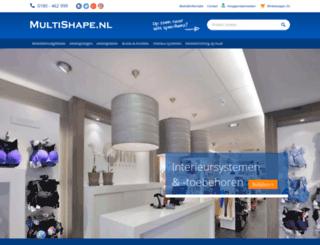 multishape.nl screenshot