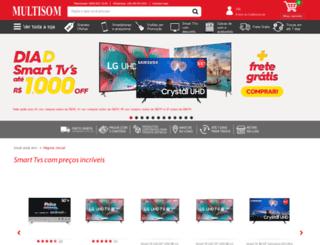 multisom.com.br screenshot