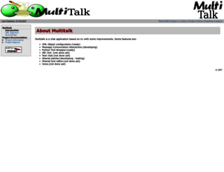 multitalk.sourceforge.net screenshot
