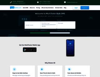 multitexter.com screenshot