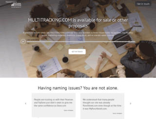 multitracking.com screenshot