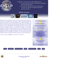 multitree.linguistlist.org screenshot