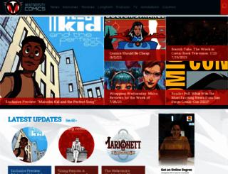 multiversitycomics.com screenshot