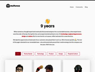 multunus.com screenshot