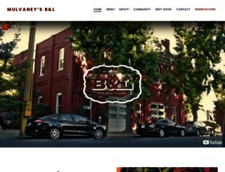 mulvaneysbl.com screenshot