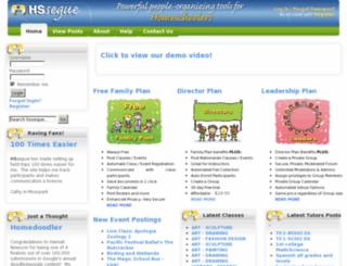 mum.hssegue.com screenshot
