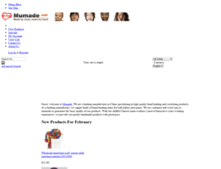 mumade.com screenshot