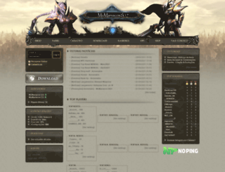 mumaniacos.com.br screenshot