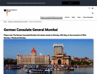 mumbai.diplo.de screenshot